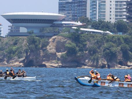 Saca canoa havaiana? Niterói vai sediar simpósio sobre o esporte