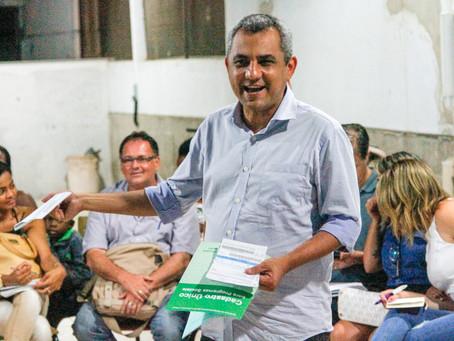 Marlos, o alvo preferencial do submundo da política, conversou com o Daki