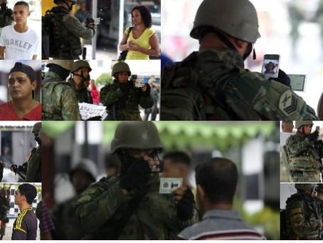 Defensoria Pública é contra 'fichamento' de cidadãos pelos militares