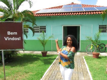 APA do Engenho Pequeno pioneira no uso de energia solar em SG