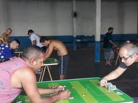 SG sedia 1º torneio interligas de Futebol de Botão