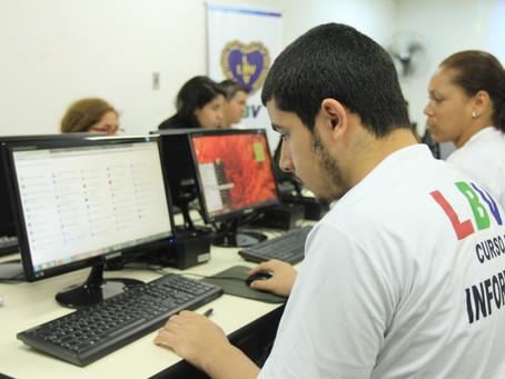 Desenvolvimento Social em parceria com LBV abre inscrições para cursos profissionalizantes