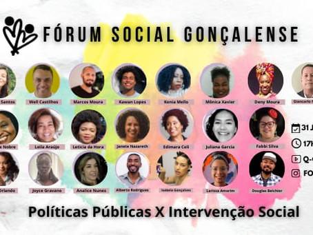 Fórum promete dar uma 'chacoalhada' do bem em São Gonçalo