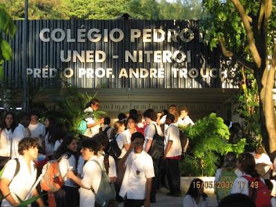 Colégio Pedro II pode fechar em setembro por falta de verba