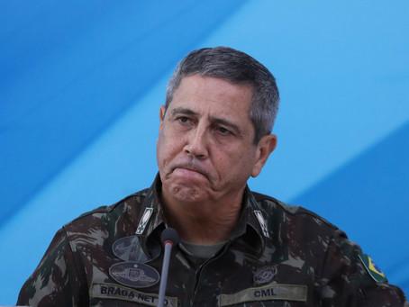 Delírio: Braga Neto ameaça 'melar' eleições se não for do jeito dele