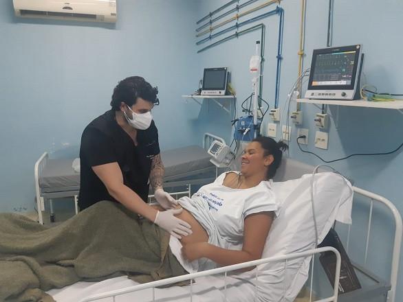 Cintia Rosa Caruzo agora espera Heloísa chegar/Foto: Divulgação