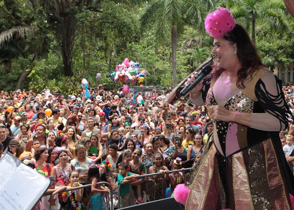 Bia Bedran se apresentou no Campo de São Bento/Foto: Fotos: Berg Silva