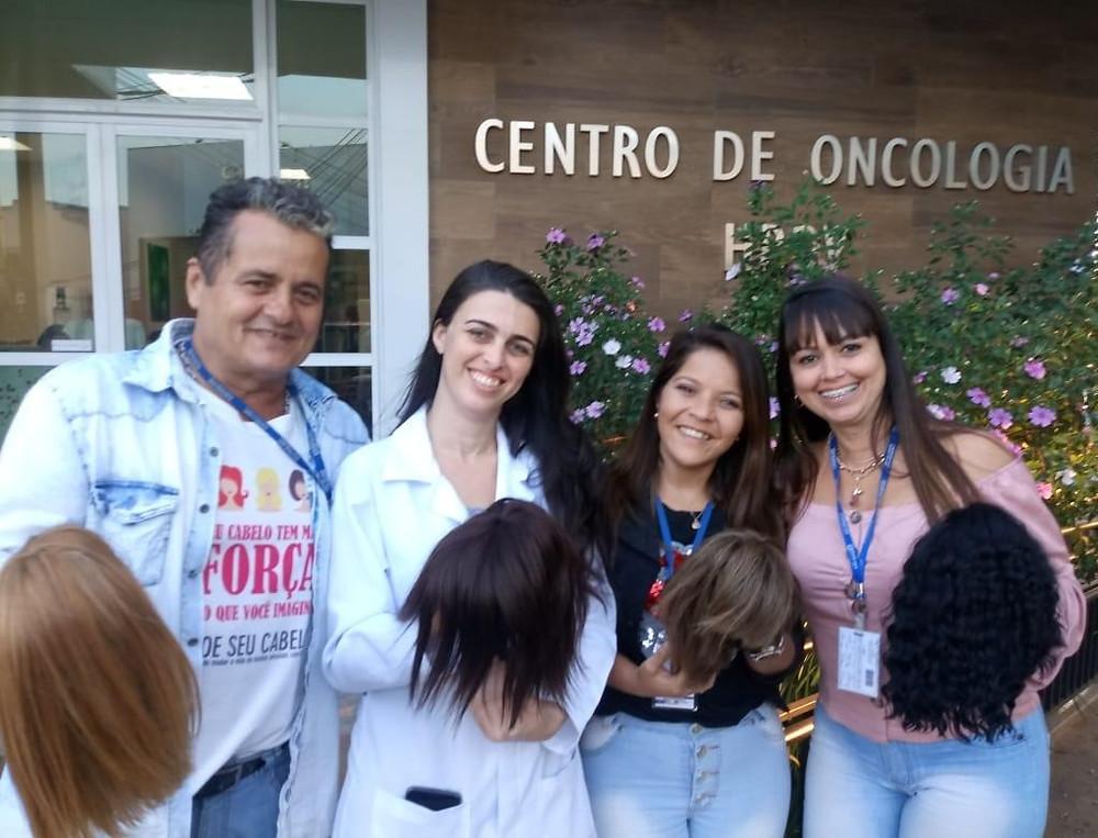 Responsáveis pelas instituições comemoraram parceria/Foto: Divulgação