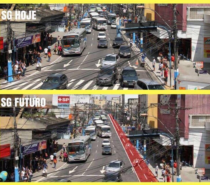 Ciclistas se tornam referência em mobilidade urbana em SG
