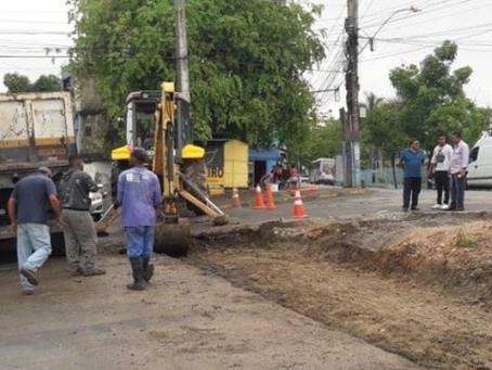 Via Binário, em Lagoinha, será ampliada