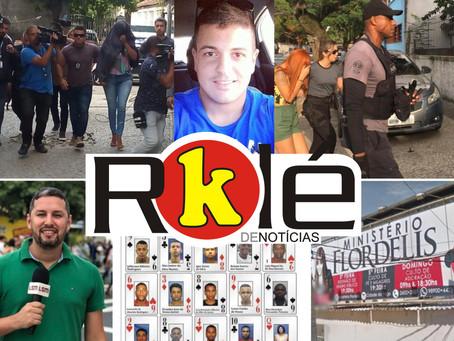 Polícia Civil faz operação contra milicianos de Itaboraí; Flordelis fecha filial de Pendotiba e mais