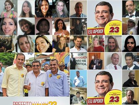Advogados de SG declaram apoio a José Luiz Nanci
