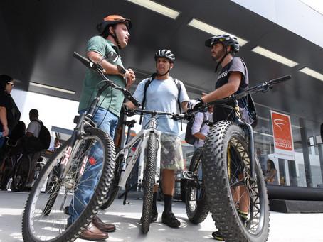 Niterói fala sobre sucesso de bicicletário na 'Velocity 2018' realizada até amanhã (15) no R