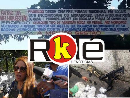 Policial e suspeito de tráfico morrem após operação em Miriambi; Neta de Flordelis deu sumiço em cel