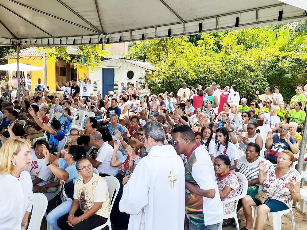 Milhares de pessoas passaram pela Capela da Luz, um dos monumentos histórico-cultural-religioso mais antigos do país/Foto: Divulgação