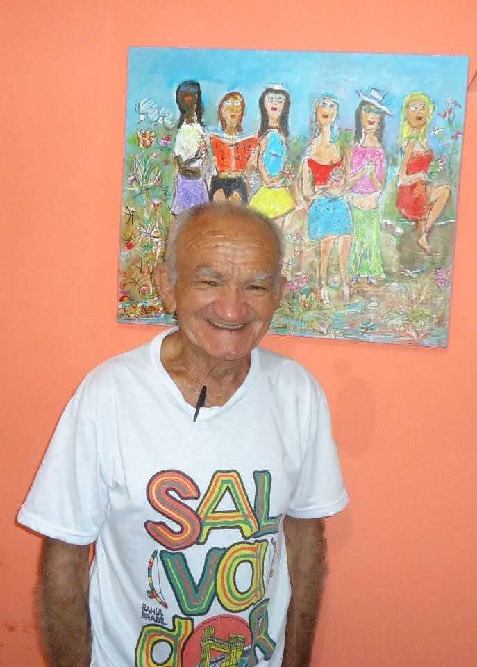O artista Juareis e o sorriso que acolhe/Foto: Divulgação