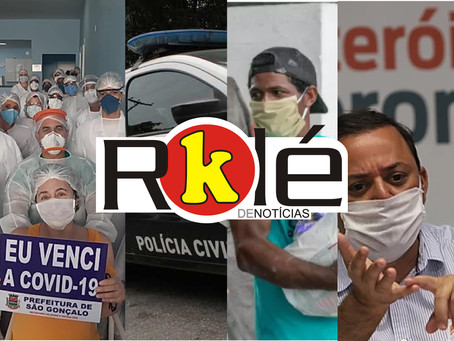 Hospital de Campanha é 'desinaugurado' em meio à escândalos de corrupção na Saúde do estado e mais