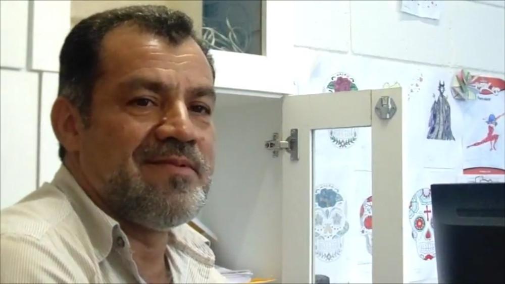 Wilson Rodrigues é o diretor da escola