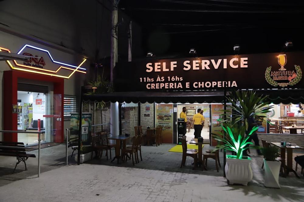 Restaurante no Centro/Foto: Evelen Gouvêa