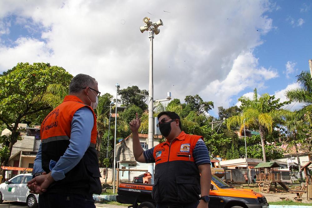 Ao todo 25 comunidades contarão com sirenes/Foto: Lucas Alvarenga