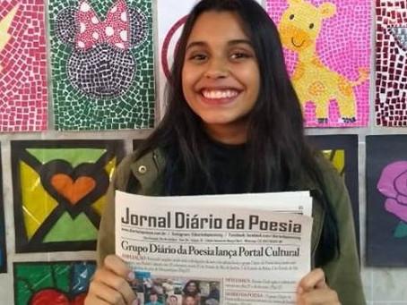 Diário da Poesia lança 17ª edição do jornal impresso sobre arte e cultura