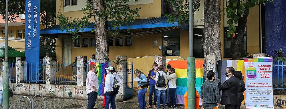 Banco de Sangue Herbert de Souza, no Hospital Universitário Pedro Ernest/Foto: Divulgação