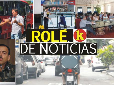 Rolé de Notícias: Maricá abre concurso; Polícia reprime roubo de carros e muito mais