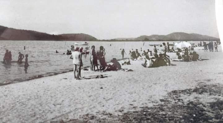 Praia das Pedrinhas, idos de 1970/Foto: Internet