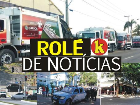 Rolé de Notícias: Justiça faz busca e apreensão de caminhão de lixo em Maricá e muito mais