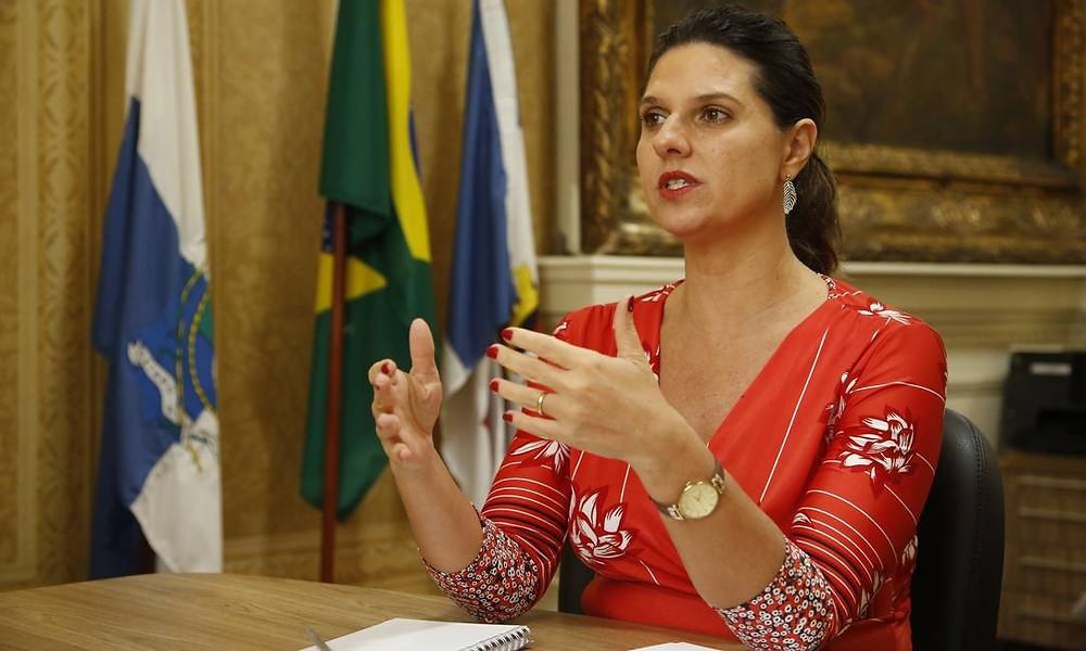 Giovanna Victer, secretária de Fazenda/Foto: Divulgação