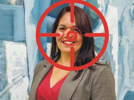 Eleições OAB: Ela é o alvo