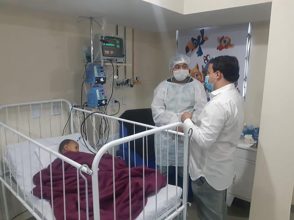 Pacientes de outros usam a unidade/Foto: Divulgação