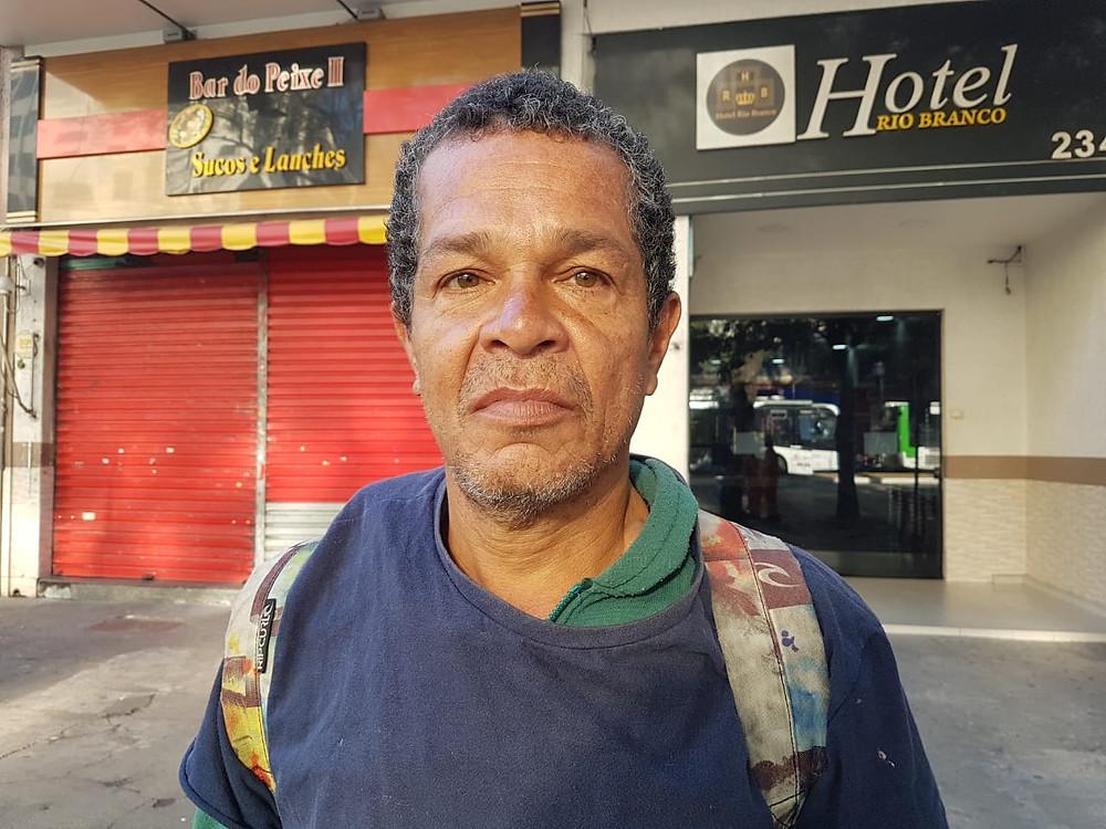 Assim como milhares de brasileiros, Daniel está há mais de 2 anos desempregado. (Foto: Lu Sudré/Brasil de Fato)