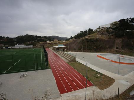 Caramujo recebe Parque Esportivo e de Inclusão Social