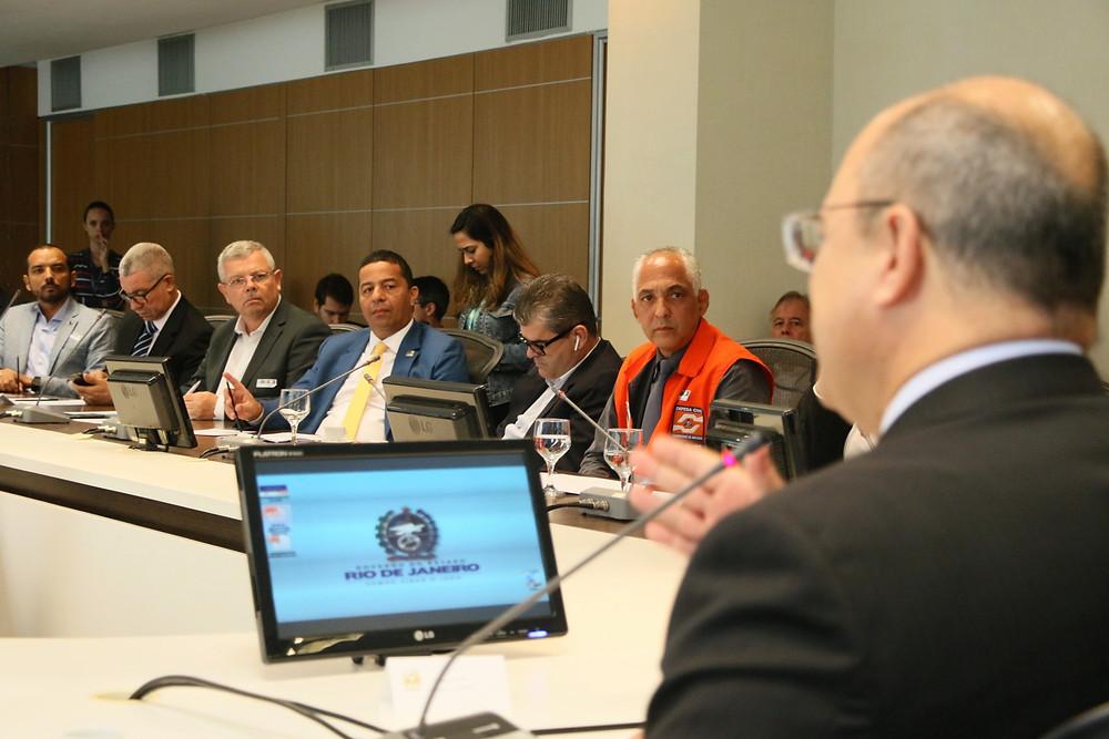 Reunião foi realizada no Palácio Guanabara/Foto: Luciana Carneiro