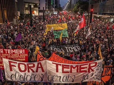 Trabalhadores de todo o Brasil foram às ruas contra a reforma da Previdência