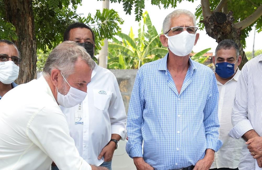 Nelson Ruas visitou o local das obras/Foto: Divulgação