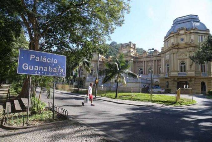 Palácio Guanabara, sede do governo/Foto: Divulgação - Internet