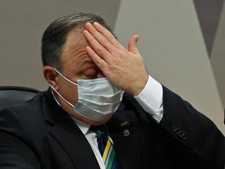 General Pazuello teme ser preso diante de investigações da CPI e do MPF