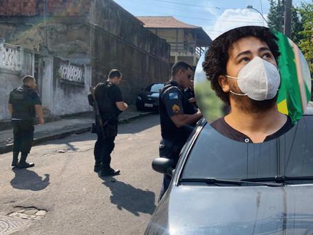 Romario Regis: 'Não sabemos se foi furto ou intimidação'