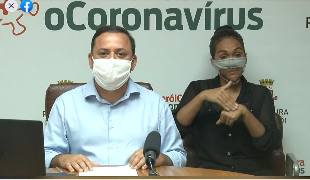 A medida foi divulgada pelo prefeito de Niterói, Rodrigo Neves, nesta quinta-feira (24)/Foto: Reprodução Fecebook