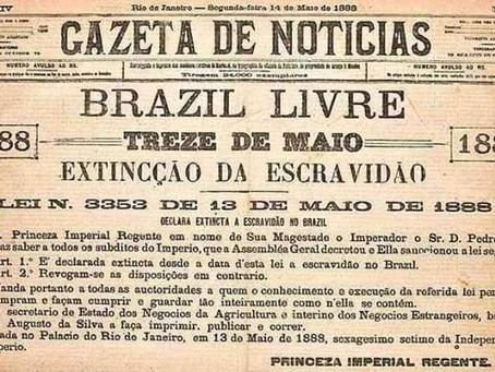 13 de maio: há o que se comemorar? Por Oswaldo Mendes