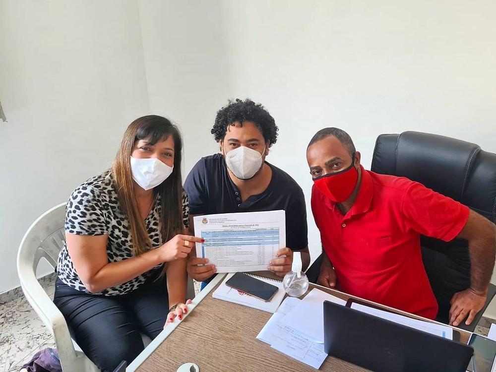 """Vereadores montaram o """"gabinetão da oposição""""/Foto: Divulgação"""