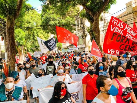 29M: Atos contra Bolsonaro e pela vacina ocorrem pelo Brasil e exterior