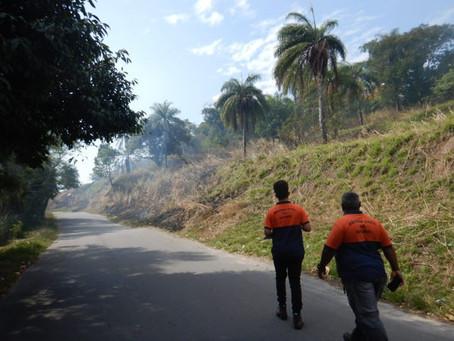 Equipes da Defesa Civil intensificam ronda preventiva contra queimadas em Niterói