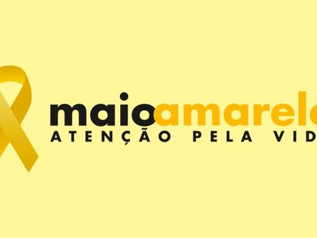 Campanha Maio Amarelo: No trânsito sua responsabilidade salva vidas