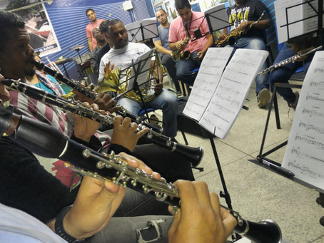 Igreja Matriz recebe apresentação da Orquestra Sinfônica Municipal