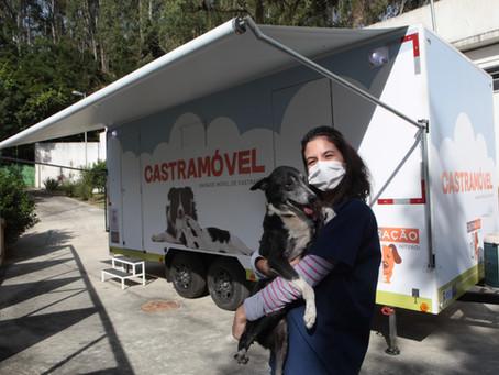 Castramóvel começa nesta quinta castração gratuita de animais em Niterói