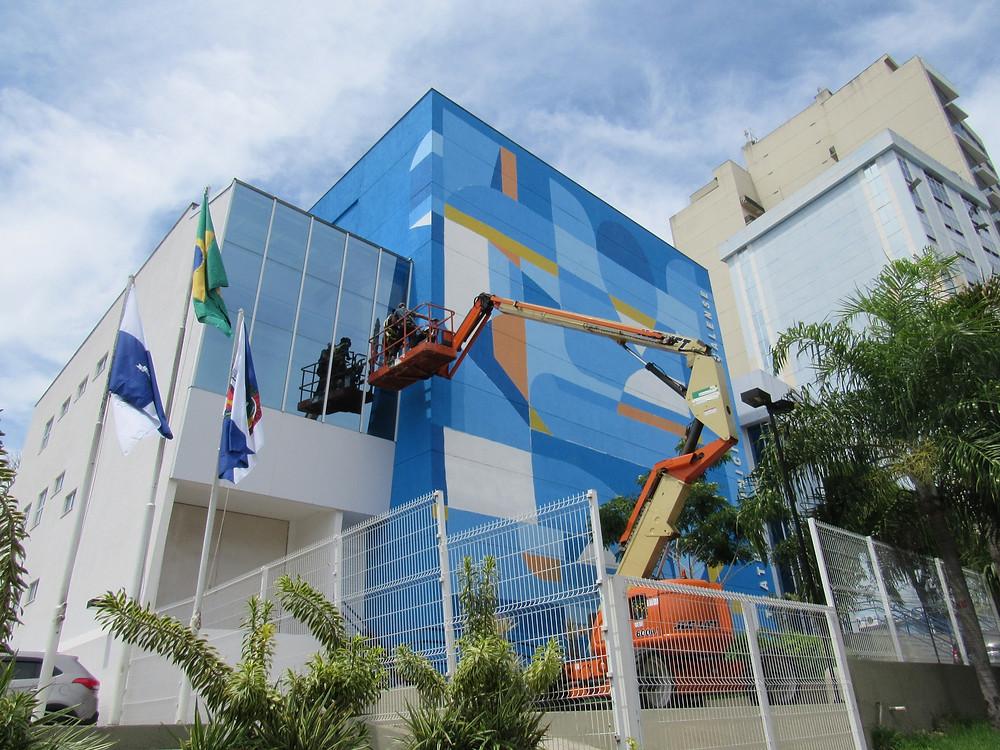 """A obra foi batizada de """"Raiz Forte""""/Foto: Divulgação"""