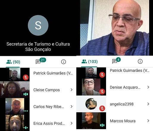 Reprodução Google Meet/Foto: Divulgação